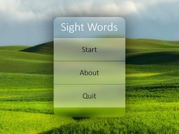 Sight Word Decks with Pronunciation