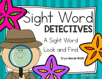 Sight Word Detective 10