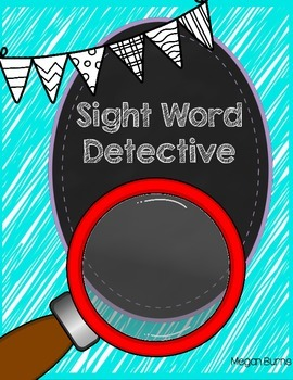 Sight Word Detective