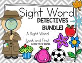Sight Word Detective Bundle
