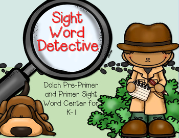 Sight Word Detective--Center for K-1