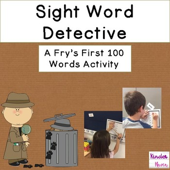 Sight Word Detective Fry's First 100