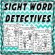 Sight Word Detective - Maze