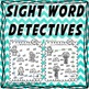 Sight Word Detective - sample freebie