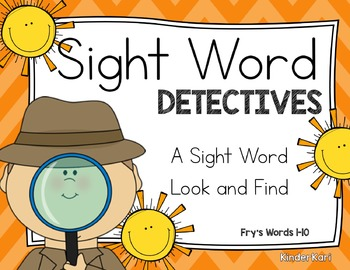 Sight Word Detectives 1