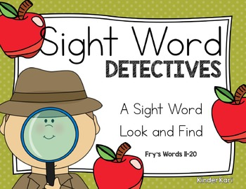 Sight Word Detectives 2