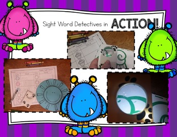 Sight Word Detectives 3