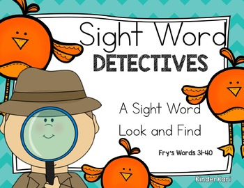 Sight Word Detectives 4