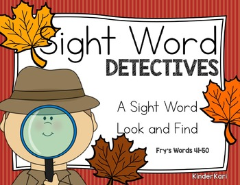 Sight Word Detectives 5