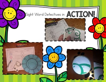 Sight Word Detectives 8