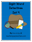 Sight Word Detectives List 4