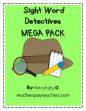 Sight Word Detectives MEGA PACK!!