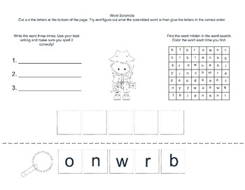 Sight Word Detectives Packs