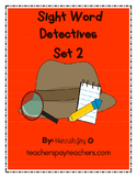Sight Word Detectives Set 2