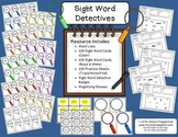 Sight Word Detectives - Trace/Write/Find