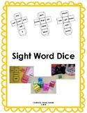 Sight Word Dice