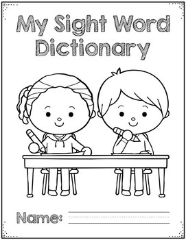 Sight Word Dictionary