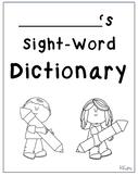 Sight Word Dictionary