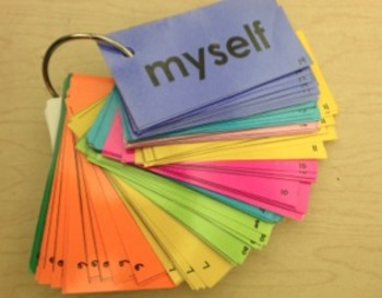 Sight Word Differentiation System: Individualize Sight Word practice for K-1