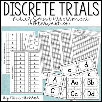 Letter Sound Discrete Trials