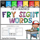 Sight Word Do It! Trace, Write, Color, Find, Cut and Glue It!