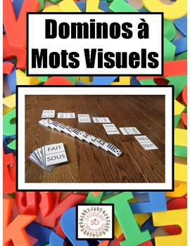Sight Word Domino Cards FRENCH