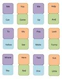 Pre-Primer Sight Word Dominoes