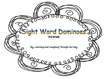 Sight Word Dominoes 3rd Grade