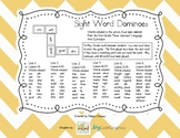 Sight Word Dominoes (First Grade)