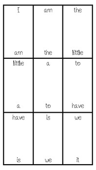 Sight Word Dominoes (Fry Bundle)