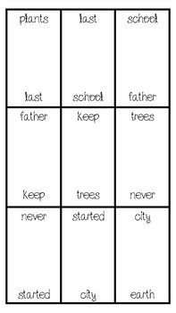 Sight Word Dominoes (Fry's 201-300)