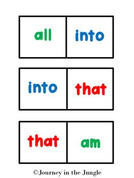 Sight Word Dominoes (Primer)