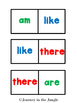 Sight Word Dominoes (Primer) - Freebie