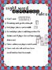 Sight Word Dominoes ~ pre-primer