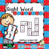 Sight Word Dominoes pre-primer