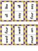 Sight Word Dominoes ~ primer
