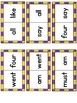 Sight Word Dominoes ~ primer