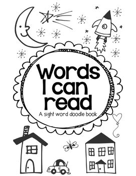 Sight Word Doodle Book- Aligned with mClass WR lists