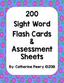 Sight Word Dot Frames Packet (Editable)
