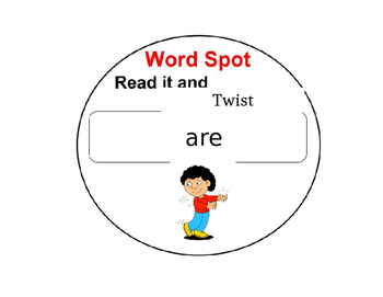 Sight Word Dots