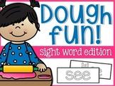 Sight Word Dough Fun Mats