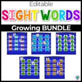 Sight Word EDITABLE Hide and Seek ENDLESS Bundle