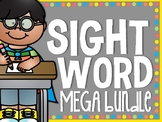 Sight Word ENDLESS MEGA Bundle
