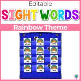 Sight Word Editable Hide & Seek Pocket Chart Cards | St. Patricks Theme