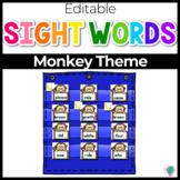 Sight Word Editable Hide & Seek Pocket Chart Cards | Zoo Theme
