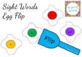 Sight Word Egg Flip (First 100)
