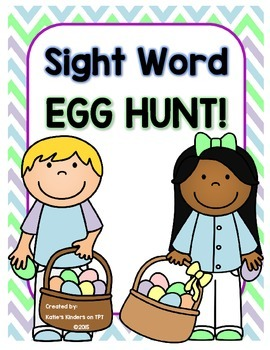 Sight Word Egg Hunt!