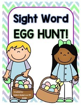 Sight Word Egg Hunt!