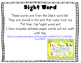 Sight Word Egg Hunt - Dolch Words - Editable Pages