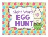 Sight Word Egg Hunt Game (Dolch Primer List)